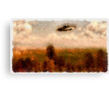 UFO - In The Countryside by Raphael Terra Canvas Print