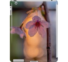 Setting Flowers in Spring iPad Case/Skin