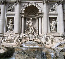 The Trevi Fountain by Patricia127