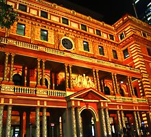 Sydney Vivid Festival 2011 - Customs House by Martyn Baker | Martyn Baker Photography