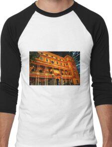 Sydney Vivid Festival 2011 - Customs House Men's Baseball ¾ T-Shirt