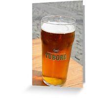 Denmark Beer Greeting Card