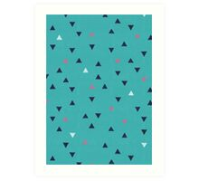 TRY ANGLES / swimming Art Print