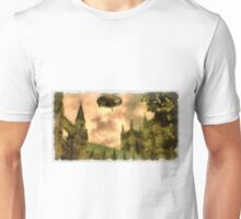 UFO - Over Cathedral by Raphael Terra Unisex T-Shirt