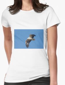 Surveying The Ponds Womens Fitted T-Shirt