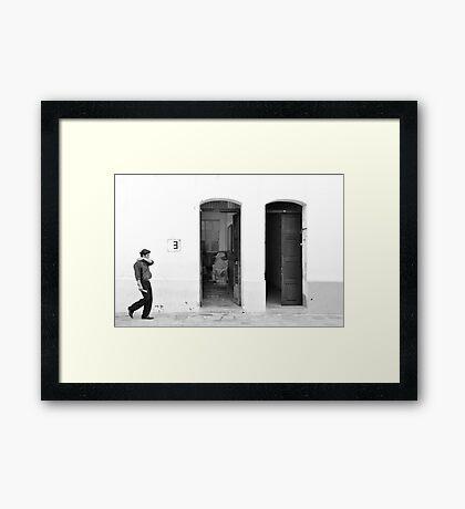 3 Framed Print