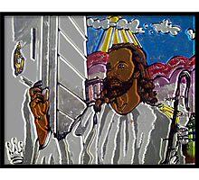 """WHEN JESUS KNOCKS"" Photographic Print"