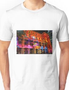 Sydney Vivid Festival 2011 - Customs House Unisex T-Shirt