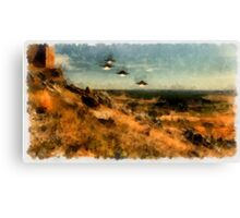 UFO - Invasion Force by Raphael Terra Canvas Print