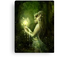 Lady of the swamp Canvas Print