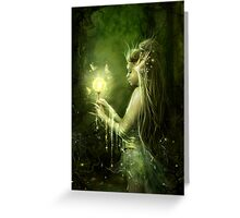 Lady of the swamp Greeting Card