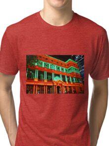 Sydney Vivid Festival 2011 - Customs House Tri-blend T-Shirt