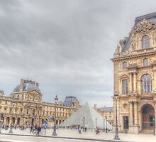 Loving The Louvre by Michael Matthews