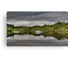 Boats of Loch Ness Canvas Print