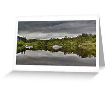 Boats of Loch Ness Greeting Card