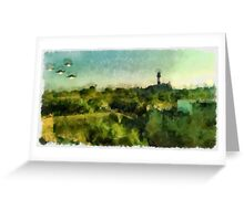 UFO - Invasion Force 2 by Raphael Terra Greeting Card