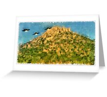 UFO - Invasion Force 3 by Raphael Terra Greeting Card