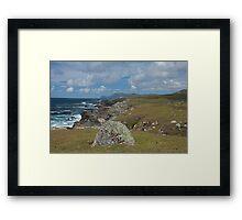 Achill Island coastline  Framed Print