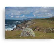 Achill Island coastline  Canvas Print