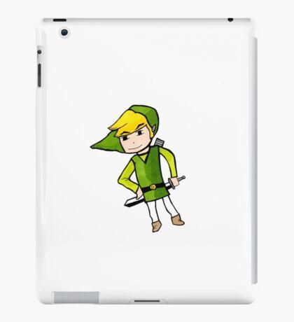Link from Legends of Zelda - Windwaker iPad Case/Skin