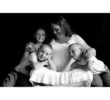 Mother and children Photographic Print