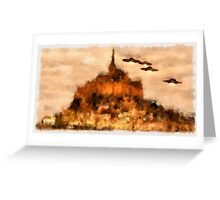 UFO - Invasion Force 6 by Raphael Terra Greeting Card