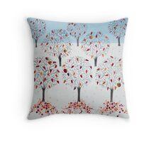 Autumn Orchard Throw Pillow