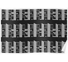 Salk Institute, Louis Kahn - Modern architecture series Poster