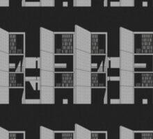 Salk Institute, Louis Kahn - Modern architecture series Sticker