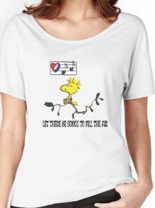 Woodstock sings Women's Relaxed Fit T-Shirt
