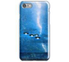 UFO - Invasion Force 9 by Raphael Terra iPhone Case/Skin