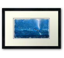 UFO - Invasion Force 9 by Raphael Terra Framed Print