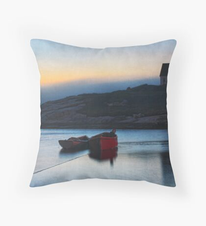 Leave a Light on for Me Throw Pillow