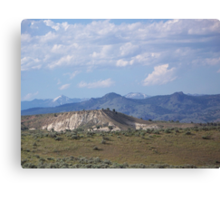 Denny Flat View of the Elkhorns - Eastern Oregon  Canvas Print