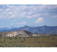 Denny Flat View of the Elkhorns - Eastern Oregon  Photographic Print