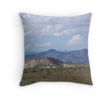 Denny Flat View of the Elkhorns - Eastern Oregon  Throw Pillow