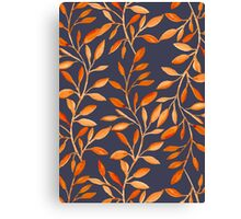 Autumn pattern Canvas Print