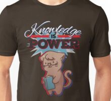 Knowledge is Power (Light) Unisex T-Shirt