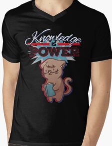 Knowledge is Power (Light) Mens V-Neck T-Shirt
