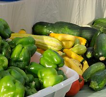 Peppers and Squash by MaryGerken