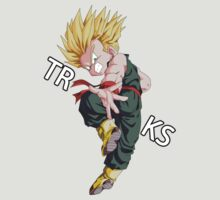 dragon ball z vegeta trunks super saiyan anime manga shirt by ToDum2Lov3