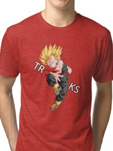 vegeta trunks super saiyan anime manga shirt Tri-blend T-Shirt
