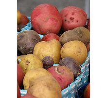 Potatoes Photographic Print