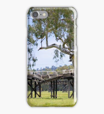 Abandoned Bridges - Gundagai, NSW, Australia iPhone Case/Skin