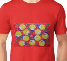 Thai Abstract Acrylic Doodle Unisex T-Shirt
