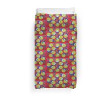 Thai Abstract Acrylic Doodle Duvet Cover