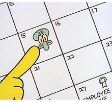 Annoy Squidward Day by trashdesigns