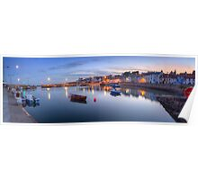 St Monans Harbour @ Dusk  Poster