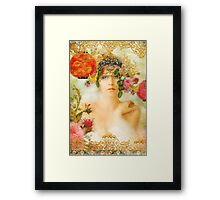 The Summer Queen Framed Print