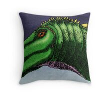 Apatosaurus louisea Throw Pillow